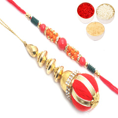 Rakhis Online- Temple of Faith Bhaiya Bhabhi rakhi