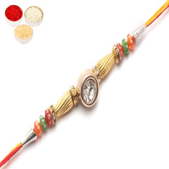Rakhi for Brother Rakhis Online -1406 Diamond Rakhi