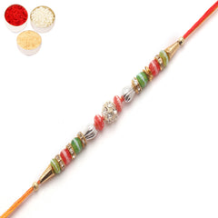 Rakhi for Brother Rakhis Online - 2201 Diamond Rakhi