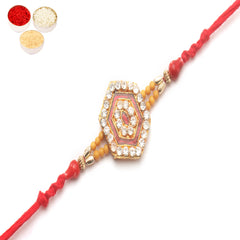 Rakhi for Brother Rakhis Online - D777 diamond Rakhi
