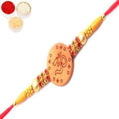 Rakhi for Brother Rakhis Online- Om The Sacred Universal Bond Rakhi