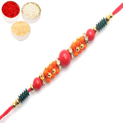 Rakhi for Brother Rakhis Online-1525 Fancy Thread Rakhi