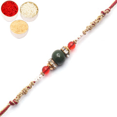 Rakhi for Brother Rakhis Online-3645 Fancy Thread Rakhi