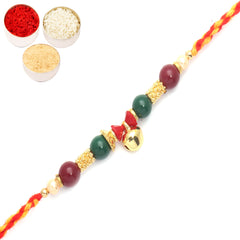 Rakhi for Brother Rakhis Online - 6100 Fancy Thread Rakhi