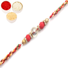Rakhi for Brother Rakhis Online - 6808 fancy Thread rakhi
