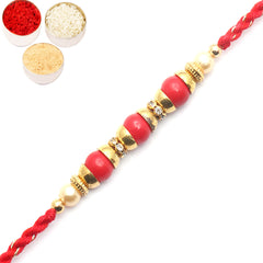 Rakhi for Brother Rakhis Online- 6975 fancy Thread Rakhi