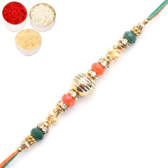 Rakhi for Brother Rakhis Online-7051 fancy Thread Rakhi