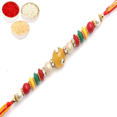 Rakhi for Brother Rakhis Online - 8001 Fancy Thread Rakhi