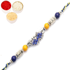 Rakhi for Brother Rakhis Online - 8987 Fancy Thread Rakhi
