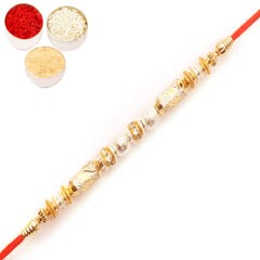 Rakhi for Brother Rakhis Online - 9951 fancy Thread Rakhi