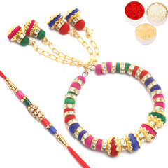 Rakhis Online- My Guiding Light Bhiya Bhabhi rakhi