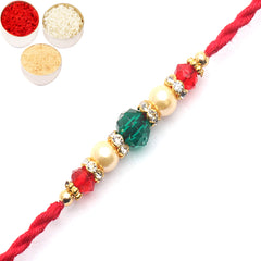 Rakhi for Brother Rakhis Online - 6771 Pearl Rakhi For my Brother