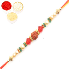 Rakhi for Brother Rakhis Online - 6135 Rudraksh Rakhi