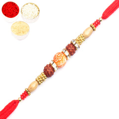 Rakhi for Brother Rakhis Online - 6701 Rudraksh Rakhi