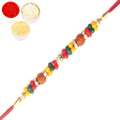 Rakhi for Brother Rakhis Online -  763 Rudraksh Rakhi