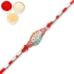 Rakhi for Brother Rakhis Online - AARR426 Silver Rakhi