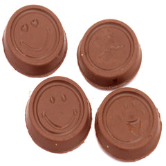 Rakhi Gifts for Brothers Rakhi Chocolates-Smiley Chococlates in White Box with Smiley Rakhi