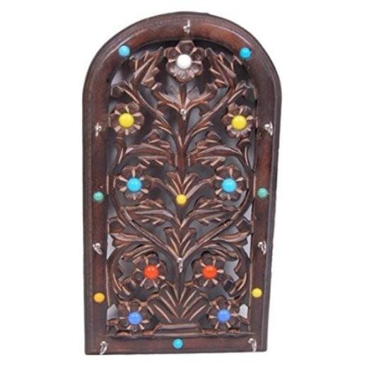 Desi Karigar Wooden Key Holder