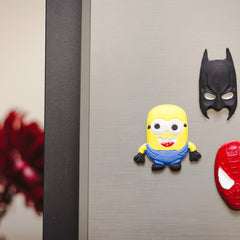 superhero theme fridge magnets