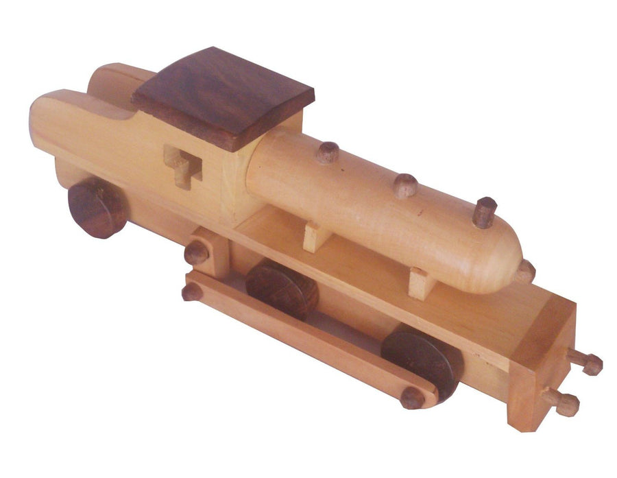 Desi Karigar Wooden Toy Engine