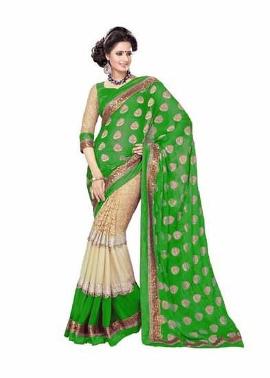 Fashion Green Saree