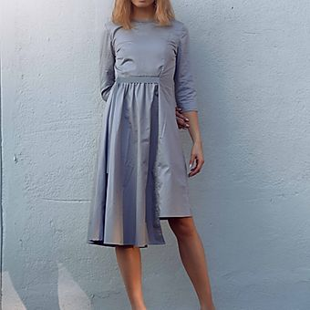 Belted Waist Dress