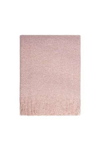 Cosy Throw - Sepia Rose