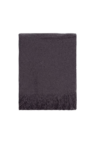 Cosy Throw - Black onyx