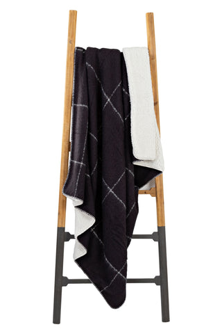 Sherpa blanket - Black