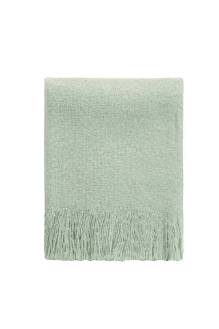 Cosy Throw - Misty duck egg blue