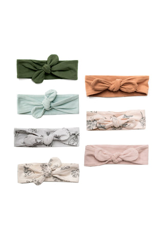 Baby head band - Dusty rose