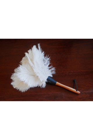 Duster feather white