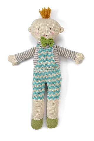 Oliver knitted doll