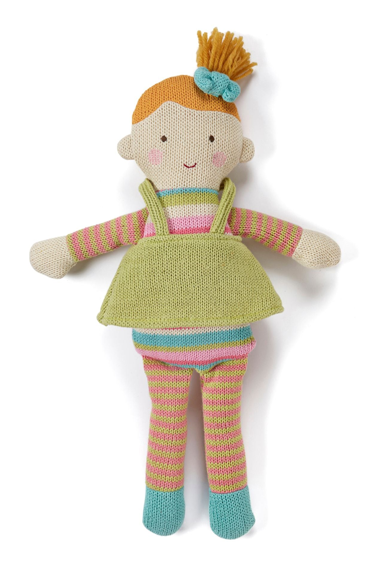 Matilda knitted doll