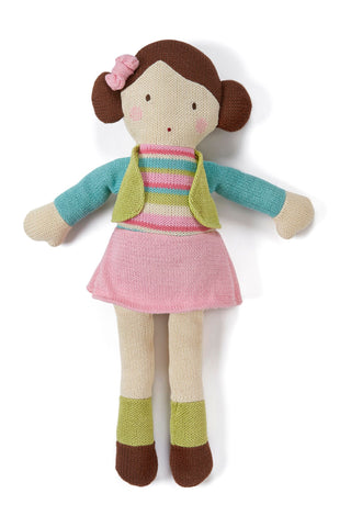 Mama knitted doll