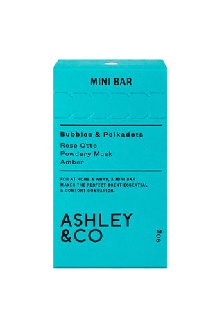 Mini Bar Soap - Bubbles & Polkadots
