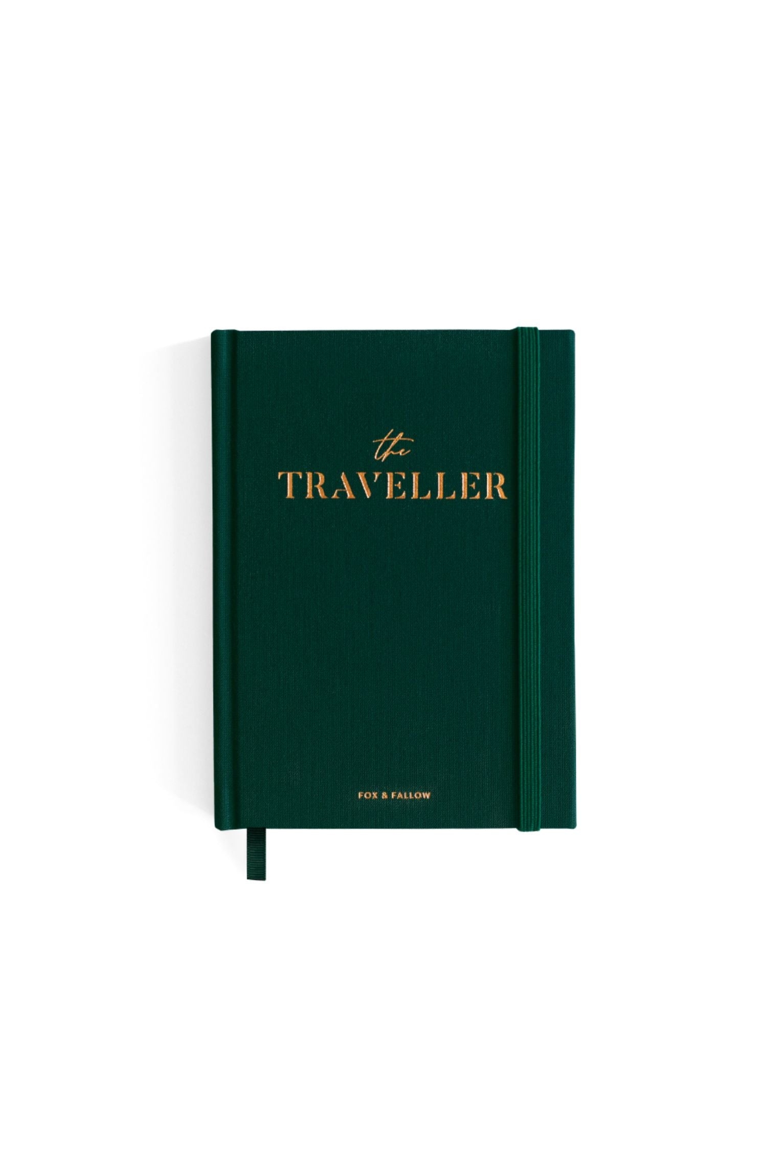 Traveller travel diary - dark green