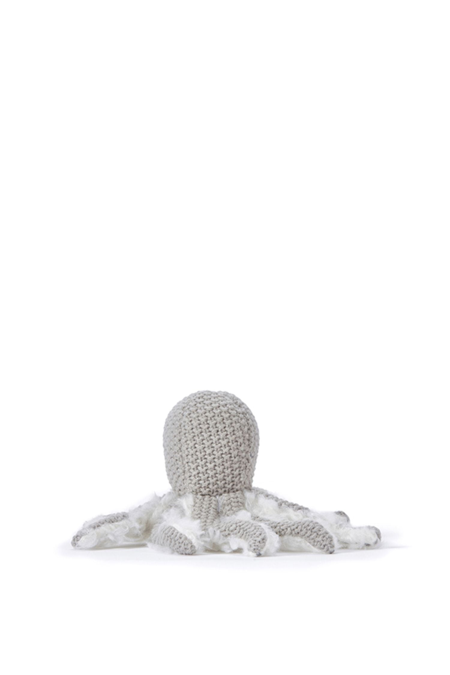 Ollie Octopus rattle grey