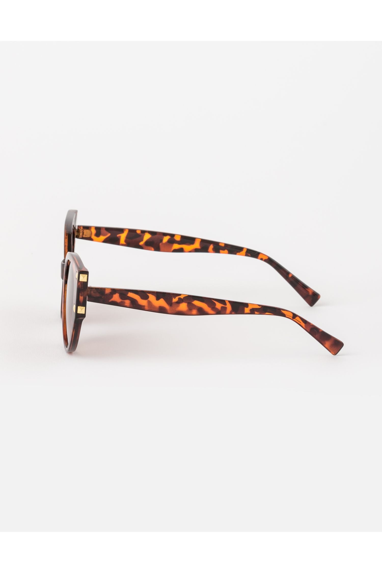 Sunglasses -  Raven tort with studs
