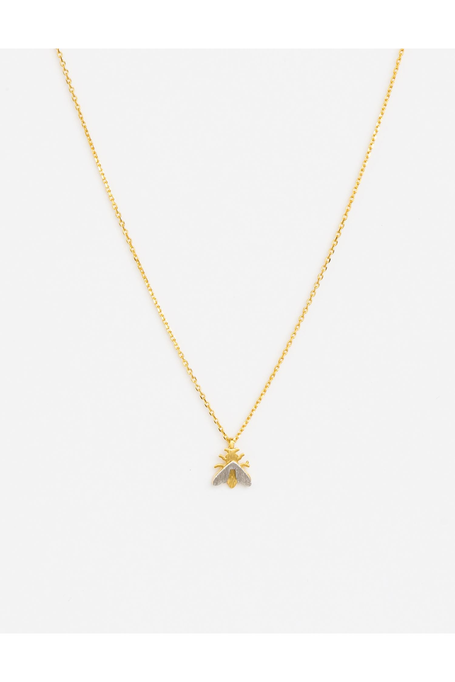 Necklace - buzz gold
