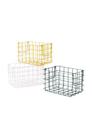 Baskets - Mustard - large