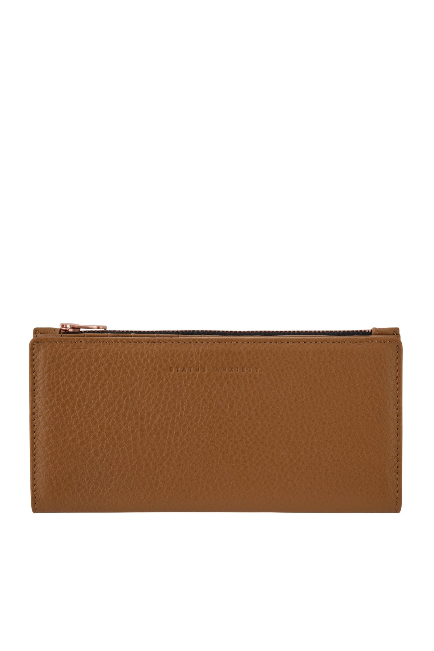 In the Beginning wallet -Tan
