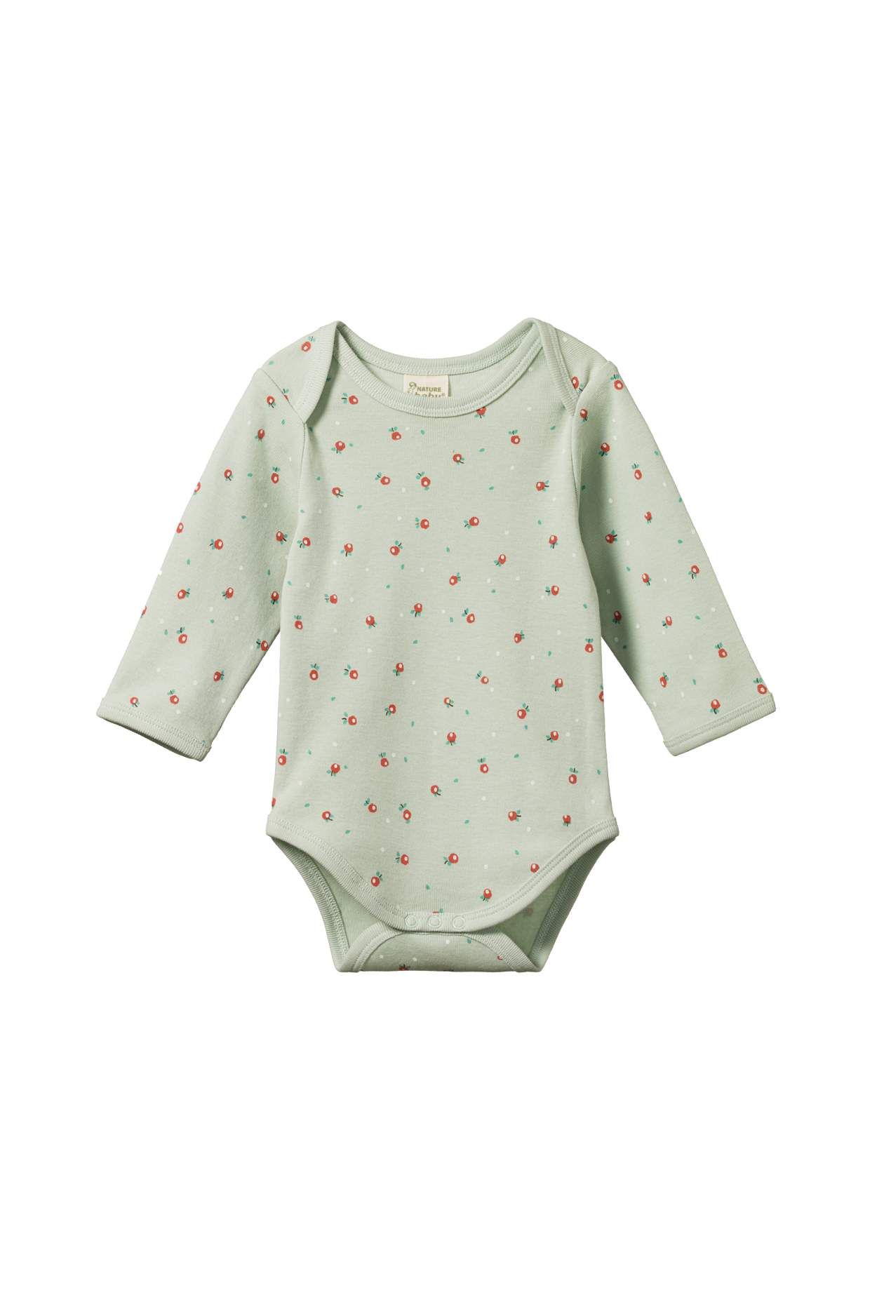 Cotton Long Sleeve Bodysuit - Posey Blossom