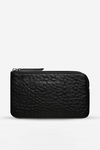 Smoke and Mirrors Pouch - Black Bubble