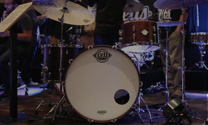 Evetts Handcrafted Bespoke Drum Kit Blackwood Shells Beavertail Lugs Drum Expo