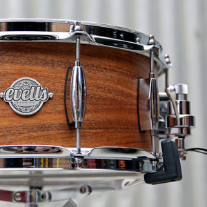 Evetts Natural Satin finish snare drum