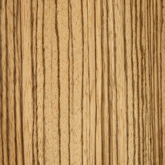Zebrano veneer sample