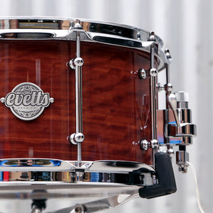 Evetts High Gloss finish snare drum
