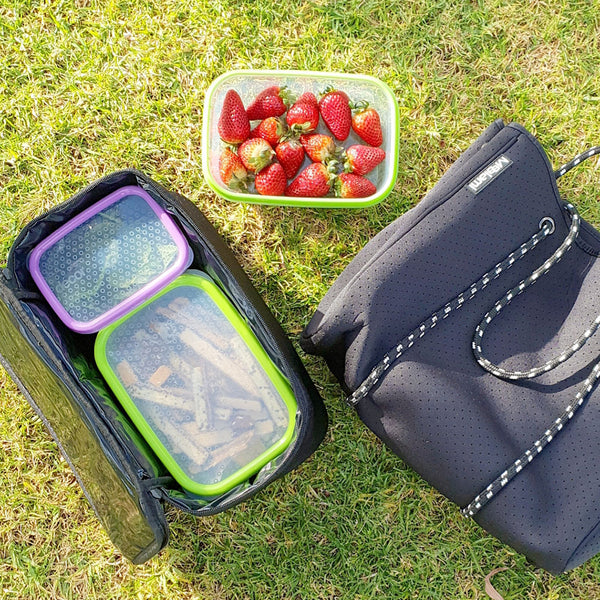 Neoprene Tote Meal Prep Bag