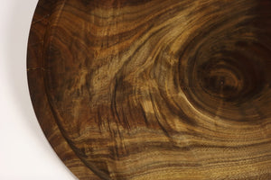 Incredible Black Walnut Platter 17""